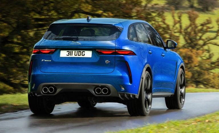 Jaguar F-Pace SVR Header